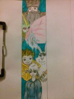 Rise Of The Guardians Bookmarker (W.I.P) by wiccanmagic97