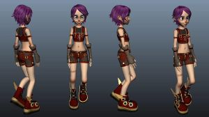 Student Feature Artist - Isabelle Dela Torre by AnimationCollegeNZ