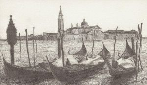 Venice sketch by Pins-n-Feathers