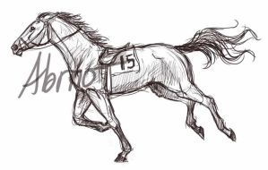 Racing-thoroughbred by horseartaddict