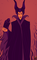 Maleficent by FionaCreates