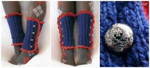 Royal School Leg Warmers by BaziKotek