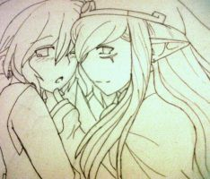 More LinkxVaati :D by blackorchid2007
