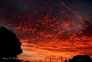Blazing-fire-in-the-sky by fotoponono