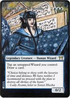 Magic the Gathering Alteration: Azami by Ondal-the-Fool