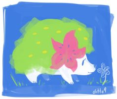Shaymin Pokemon Request by ditto9