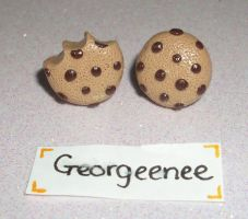 Choc chip cookies by PORGEcreations