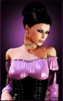 Sweet Violet by SilveryWitch
