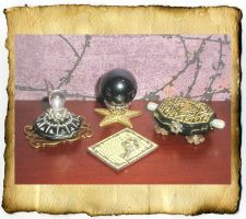 Miniature Magis Magic Treasure by grimdeva
