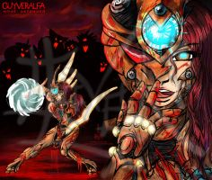 Guyver Alfa mode-Defender by Lucithea