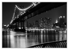 Manhattan Bridge, NYC by divagation