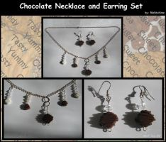 Chocolate Jewelry Set by Mahkohime
