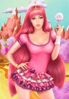 Princess Bubblegum by Ksulolka