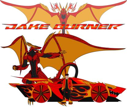 Jake Burner and Dragonfire by JakeBurner