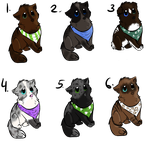 [CLOSED] Mystery Adoptables! by MeMowMow