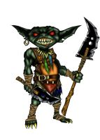 Goblin Hero Colors by Redmonkey-Da