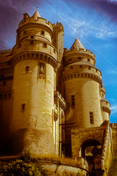 Chateau Pierrefonds by Fingal-Grey