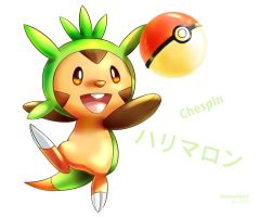 Chespin by Vermeilbird