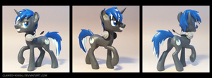 Scratched Disk 3D-Printed Figure by Clawed-Nyasu