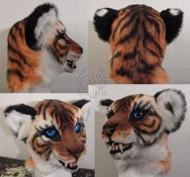 Tiger Fursuit Head by Beetlecat