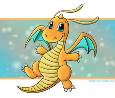 Dragonite by Allyson-x