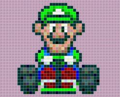 Luigi Kart Tiled by drsparc