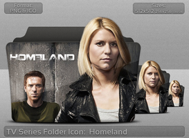 Homeland TV Serie Folder Icon by atty12