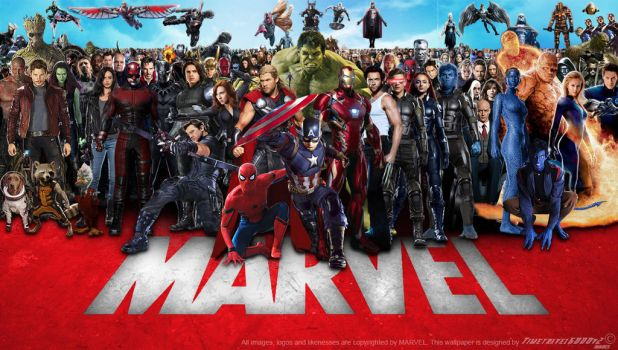Marvel Cinematic Multiverse Wallpaper Widescreen 2 by Timetravel6000v2