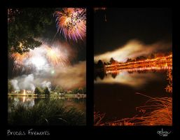 Brocas fireworks by kil1k