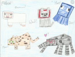 Minecraft Mobs pt.2 by Meli-chan3