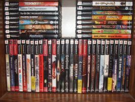 My video game collection by SharinganWarrior77