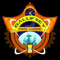 Gallifrey Time Lord Sports Logo by goblinworkshop