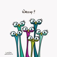 Wazzup by Latefah