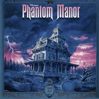 Disney Phantom Manor Promo Score CD Jacket by TerrysEatsnDawgs