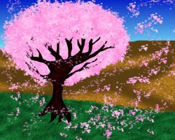 Cherry Blossom Tree by LadyIlona1984