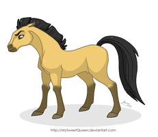Stallion of the Cimarron by MySweetQueen