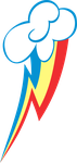 Rainbow Dash Cutie Mark by uxyd