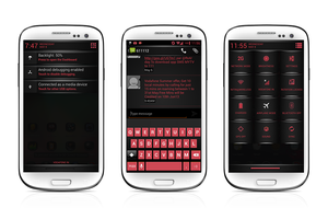 Red Fire Theme CM10.1 by nitinvaid20