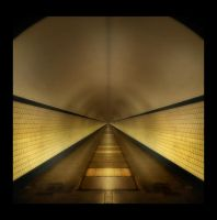 Tunnel - Square by digitaldreamz666