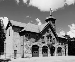 The Fire Fighters Museum in Winnipeg BW by Joe-Lynn-Design