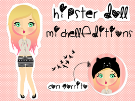 Doll hispter MichellEditons by MichellEditions