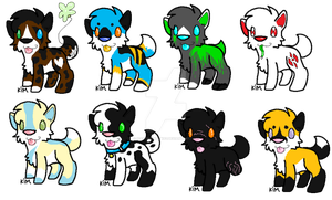 Pup Adopts 5 by IFartRainbows2