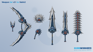 Weapons Set v31 for Metin2 by BombWork-Studio