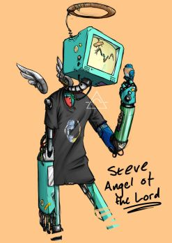 Steve Angel of the Lord by fireilluminator