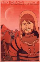 Red Dead Space by Seblecaribou