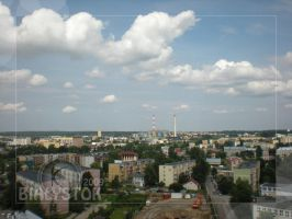 Bialystok from the top 1... by sinparadox