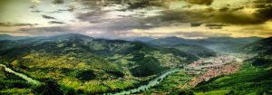 Gorazde from a far by Minq