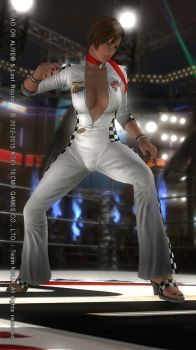 DEAD OR ALIVE 5 Last Round  Lisa12 by aponyan