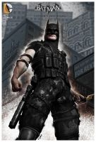 GOTHAMS LAST STAND by isikol