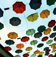 umbrella of hope by dimajaber
